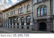 Выборг.Городской пейзаж.Вид на старые здания. Стоковое фото, фотограф Виталий Куликов / Фотобанк Лори