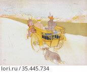 Partie de Campagne, or Country Outing by Henri de Toulouse-Lautrec... Стоковое фото, фотограф Classic Vision / age Fotostock / Фотобанк Лори