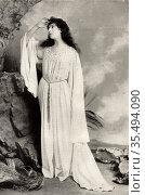 Mrs FR Benson (born Constance Featherstonhaugh - 1860-1946) English... Редакционное фото, агентство World History Archive / Фотобанк Лори