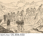 Henri-Benedict de Saussure (1740-1799) Swiss physicist, geologist... Редакционное фото, агентство World History Archive / Фотобанк Лори