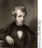 John Arthur Roebuck (1801-79) English Lawyer and politician. Chairman... Редакционное фото, агентство World History Archive / Фотобанк Лори