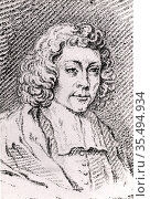 Baruch (Benedict) Spinoza (Spinosa or Despinosa) (1632-1677) Dutch... Редакционное фото, агентство World History Archive / Фотобанк Лори