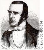 John Watkins Brett (1805-1863) English telegraph pioneer who, with... Редакционное фото, агентство World History Archive / Фотобанк Лори