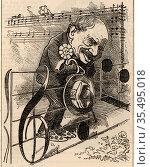 Julius Benedict (1804-1885) German-born composer and conductor, born... Редакционное фото, агентство World History Archive / Фотобанк Лори