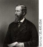 James Hamilton, lst Duke of Abercorn (1811-1885) English Conservative... Редакционное фото, агентство World History Archive / Фотобанк Лори
