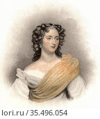 Harriet Constance Smithson (1800-1854) Irish actress. Редакционное фото, агентство World History Archive / Фотобанк Лори