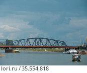 Die alte Hansestadt Zutphen in den Niederlanden. Стоковое фото, фотограф Zoonar.com/Stephan S / easy Fotostock / Фотобанк Лори