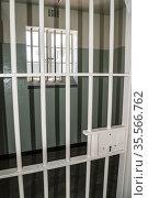 Prison cell. Robben Island Prison Museum. Table Bay, off Bloubergstrand... Стоковое фото, фотограф Arthur S. Ruffino / age Fotostock / Фотобанк Лори