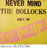 Never Mind the Bollocks, Here's the Sex Pistols is the only studio... Редакционное фото, агентство World History Archive / Фотобанк Лори