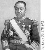 Heihachiro Togo (1847-1934) Japanese naval commander. Commander-in... Редакционное фото, агентство World History Archive / Фотобанк Лори