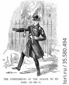 George Hamilton Gordon, 4th Earl of Aberdeen (1784-1860). Scottish... Редакционное фото, агентство World History Archive / Фотобанк Лори