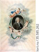 Linnaeus (Carl von Linne 1707-78) Swedish naturalist and physician... Редакционное фото, агентство World History Archive / Фотобанк Лори