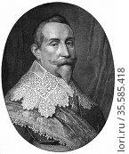 Gustav II Adolf (Gustavus Adolphus 1594-1632) King of Sweden from... Редакционное фото, агентство World History Archive / Фотобанк Лори