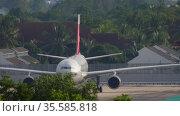 NordWind Airbus A330 ready to fly (2019 год). Редакционное видео, видеограф Игорь Жоров / Фотобанк Лори