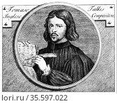 Thomas Tallis (c1505-1585) English composer, organist and music publisher... Редакционное фото, агентство World History Archive / Фотобанк Лори