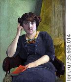 Félix Edouard Vallotton (December 28, 1865 – December 29, 1925) was... Редакционное фото, агентство World History Archive / Фотобанк Лори