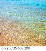 In the mediterranean sea of cyclades greece europe the color and reflex... Стоковое фото, фотограф Zoonar.com/LKPRO / easy Fotostock / Фотобанк Лори