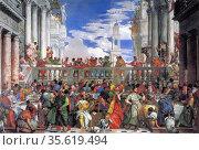 Paolo Veronese (1528 – April 19, 1588) was an Italian painter of ... Редакционное фото, агентство World History Archive / Фотобанк Лори