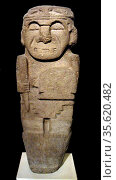 Tomb Guardian from Colombia, AD 200-600. Редакционное фото, агентство World History Archive / Фотобанк Лори