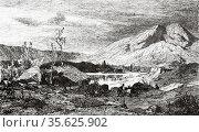 Cavedine Lake. Valley of Lakes, Trentino-Alto Adige, Italy. Europe... Редакционное фото, фотограф Jerónimo Alba / age Fotostock / Фотобанк Лори