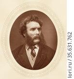 'Thomas Faed (1826-1900) c1880, Scottish painter, mainly of genre... Редакционное фото, агентство World History Archive / Фотобанк Лори