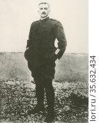 'General Armando Diaz , 1st Ducca dell Vittoria (1861-1928)  Italian... Редакционное фото, агентство World History Archive / Фотобанк Лори