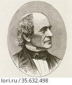 'Alvan Clark (1804-1887) American astronomer,painter and engraver... Редакционное фото, агентство World History Archive / Фотобанк Лори