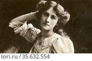 'Phyllis Dare (1890-1975) born Phyllis Constance Haddie Dones, English... Редакционное фото, агентство World History Archive / Фотобанк Лори