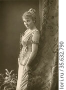 'Adelaide Detchon (born 1868) American musical recitalist and singer... Редакционное фото, агентство World History Archive / Фотобанк Лори
