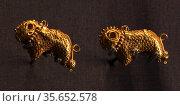 Byzantine jewellers used many decorative techniques, including filigree... Редакционное фото, агентство World History Archive / Фотобанк Лори