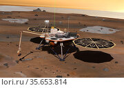 Phoenix Mars2 lander. Редакционное фото, агентство World History Archive / Фотобанк Лори