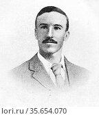Daniël Johannes Stephanus Theron, (9 May 1872 - 5 September 1900), ... Редакционное фото, агентство World History Archive / Фотобанк Лори