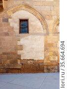Facade of Bayt al Razzaz, a Mamluk era historic building with grunge... Стоковое фото, фотограф Zoonar.com/Khaled ElAdawy / easy Fotostock / Фотобанк Лори
