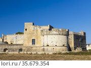 Castello di Acaya castle, Province of Lecce, Apulia, Italy. Стоковое фото, фотограф Richard Semik / easy Fotostock / Фотобанк Лори