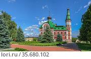 Cathedral of St. Panteleimon in Kyiv, Ukraine. Стоковое фото, фотограф Sergii Zarev / Фотобанк Лори