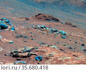 Lengthy detective work with data NASA's Mars Exploration Rover Spirit... Редакционное фото, агентство World History Archive / Фотобанк Лори