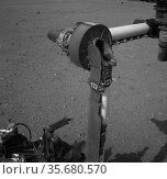 This full-resolution image from NASA's Curiosity shows the elbow ... Редакционное фото, агентство World History Archive / Фотобанк Лори