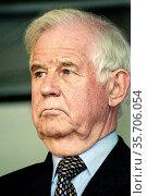 Kurt Biedenkopf - *28. 01. 1930: German politician of the Christian... (2001 год). Редакционное фото, фотограф Peter Probst / age Fotostock / Фотобанк Лори