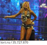 Stacy Keiber at Wrestlemania 2002 By John Barrett/PHOTOlink. Редакционное фото, фотограф Photo By John Barrett/PHOTOlink.net / age Fotostock / Фотобанк Лори