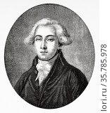 Portrait of Francois Antoine de Boissy D'Anglas (1756-1828) was a... Стоковое фото, фотограф Jerónimo Alba / age Fotostock / Фотобанк Лори