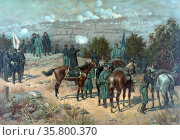 The capture of New Orleans (April 25 – May 1; 1862) during the American... Редакционное фото, агентство World History Archive / Фотобанк Лори
