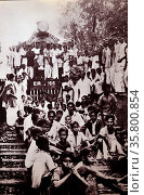 Indian civil disobedience campaign. Редакционное фото, агентство World History Archive / Фотобанк Лори