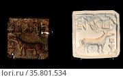 Terracotta female figure, northwest Pakistan, 200BC-AD200. Редакционное фото, агентство World History Archive / Фотобанк Лори