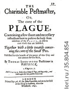 Advice pamphlet on preventing the Plague. Редакционное фото, агентство World History Archive / Фотобанк Лори