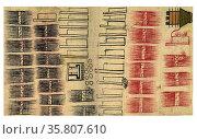 The Huexotzinco Codex. Редакционное фото, агентство World History Archive / Фотобанк Лори