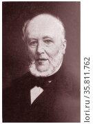 E.J. Potgieter (1808-1875) a Dutch writer and poet. (2014 год). Редакционное фото, агентство World History Archive / Фотобанк Лори