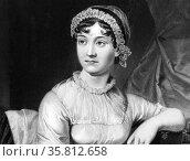 Portrait of Jane Austen. Редакционное фото, агентство World History Archive / Фотобанк Лори