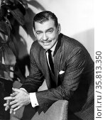 Photograph of Clark Gable. Редакционное фото, агентство World History Archive / Фотобанк Лори
