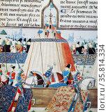 Illumination of the Joust of St Ingilbert. Редакционное фото, агентство World History Archive / Фотобанк Лори