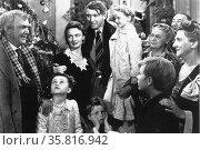 James 'Jimmy' Maitland Stewart in It's a Wonderful Life. Редакционное фото, агентство World History Archive / Фотобанк Лори